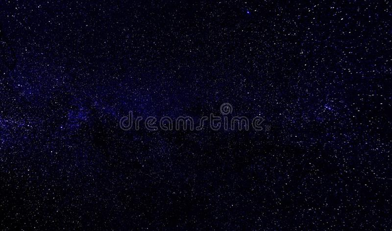 Sky With Stars Illustration royalty free stock image