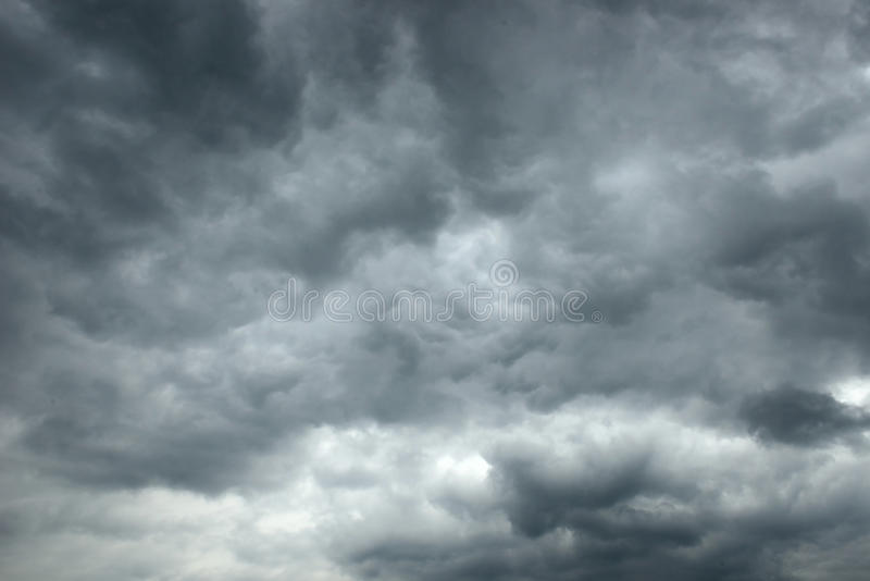 Sky storm. A dramatic sky scape of stormy skies royalty free stock photos