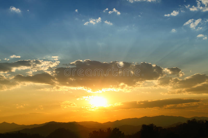 Download Sky in sunrise stock photo. Image of open, color, nature - 30768526