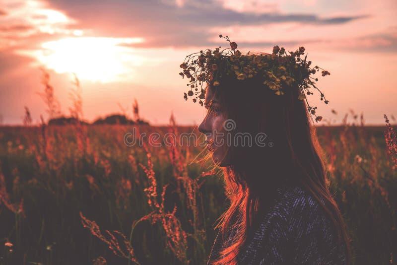 Sky, Sunrise, Field, Morning royalty free stock photos