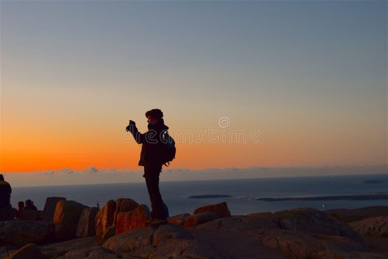 Sky, Sunrise, Sea, Horizon royalty free stock photography