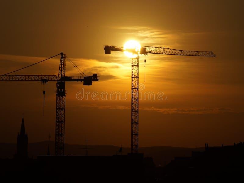 Sky, Sunrise, Sunset, Afterglow stock photo