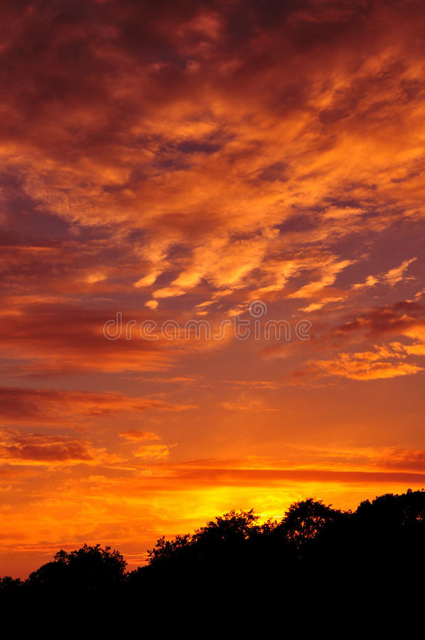 Sky At Sunset Royalty Free Stock Photo