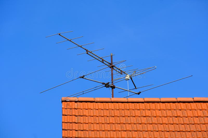 Sky, Television Antenna, Technology, Antenna stock images