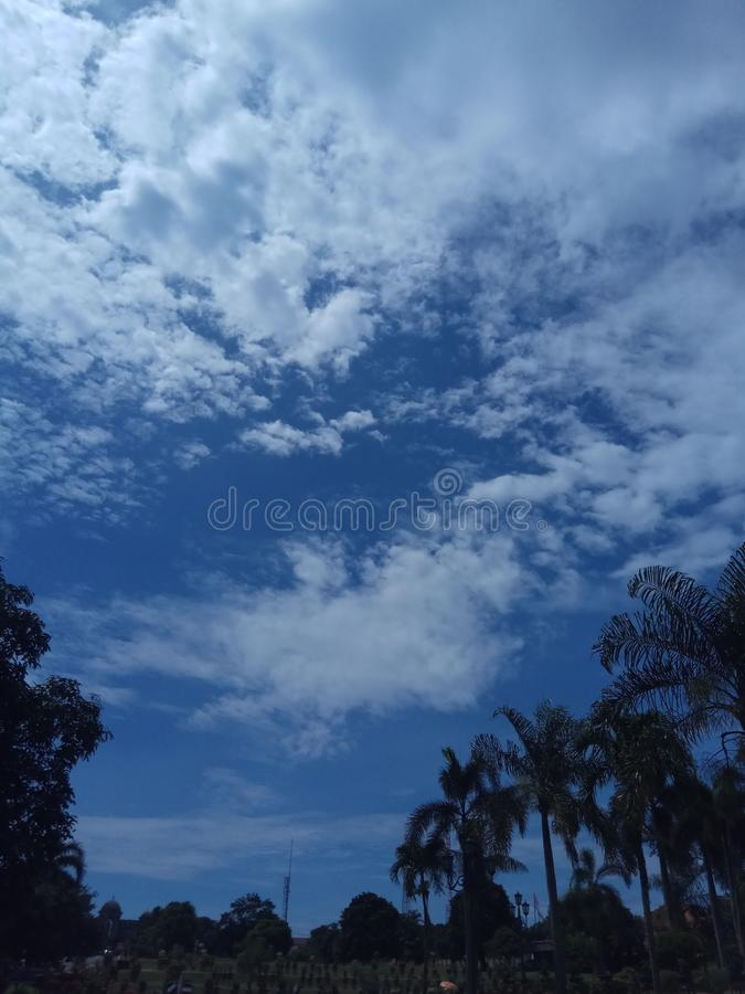 The sky royalty free stock photos