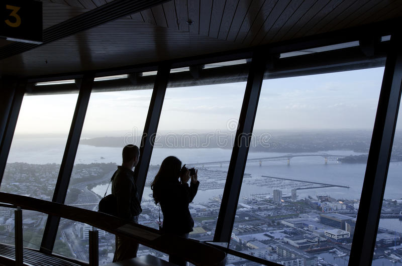 Sky Tower - Auckland New Zealand NZ Editorial Photo