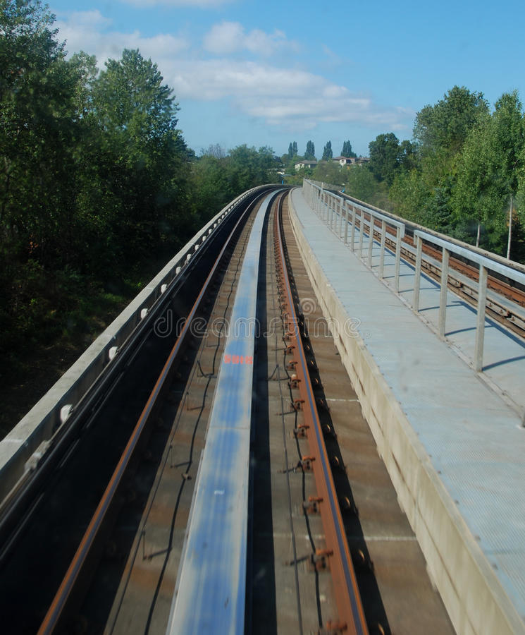 Sky Train royalty free stock photos