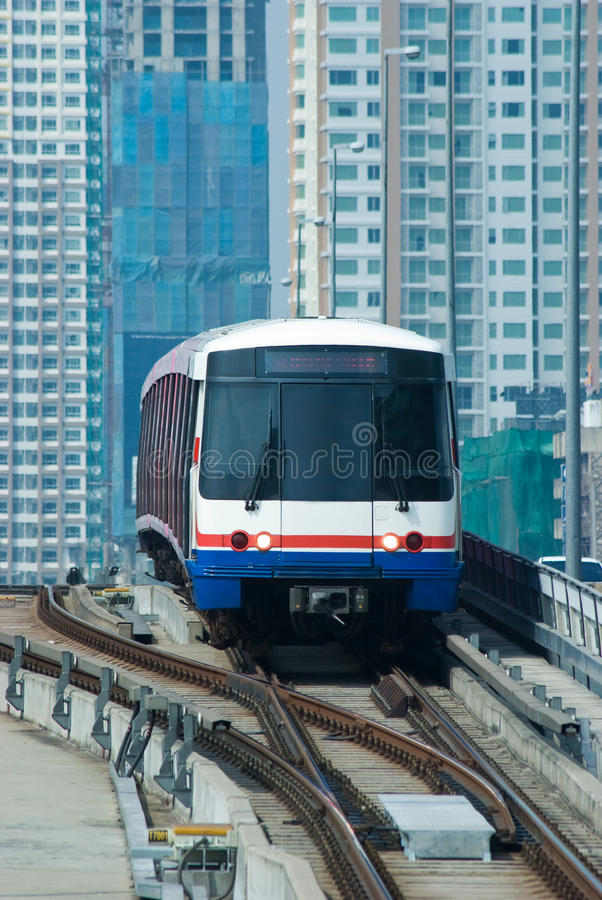 Free Sky-Train In Bangkok Stock Images - 12365614