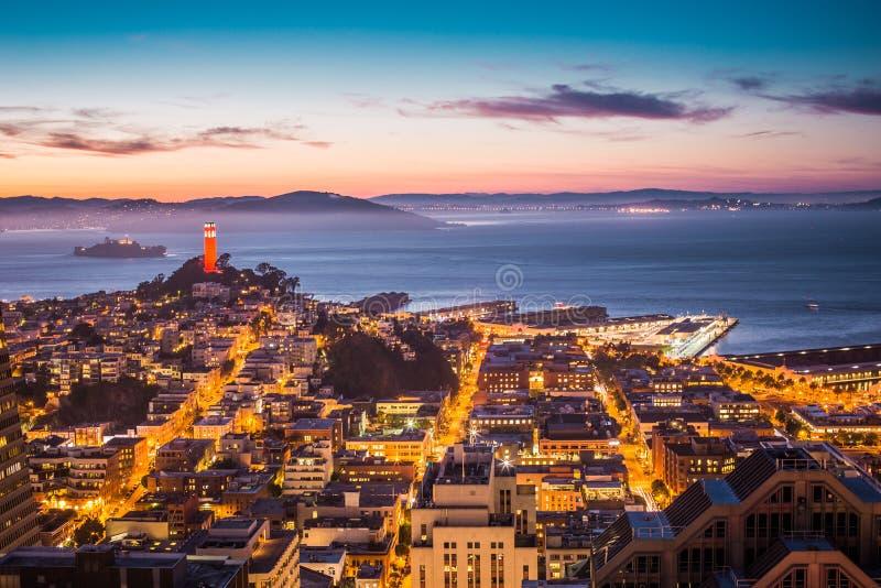 Sky View Of City During Sun Set Free Public Domain Cc0 Image