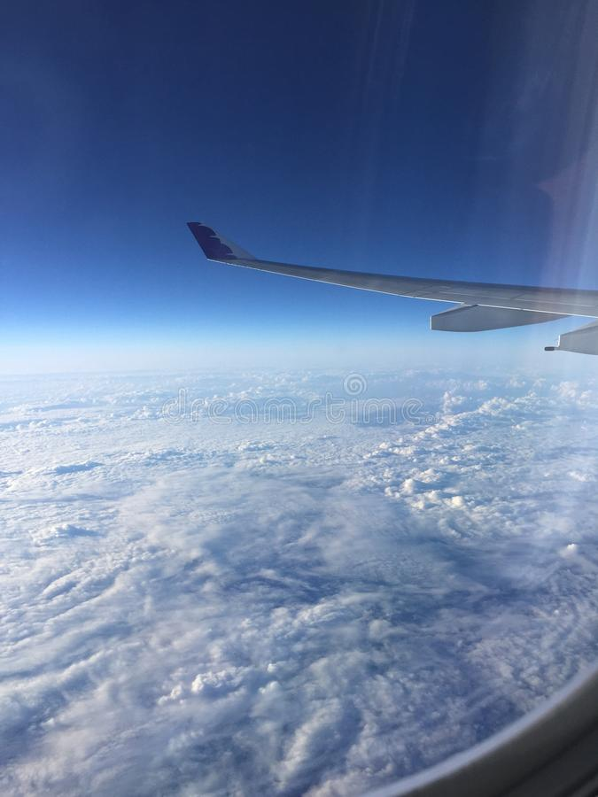Sky view stock photography