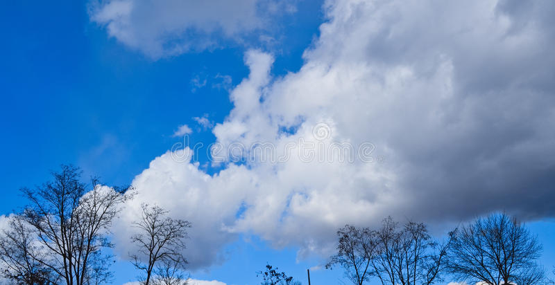 Sky view royalty free stock photo