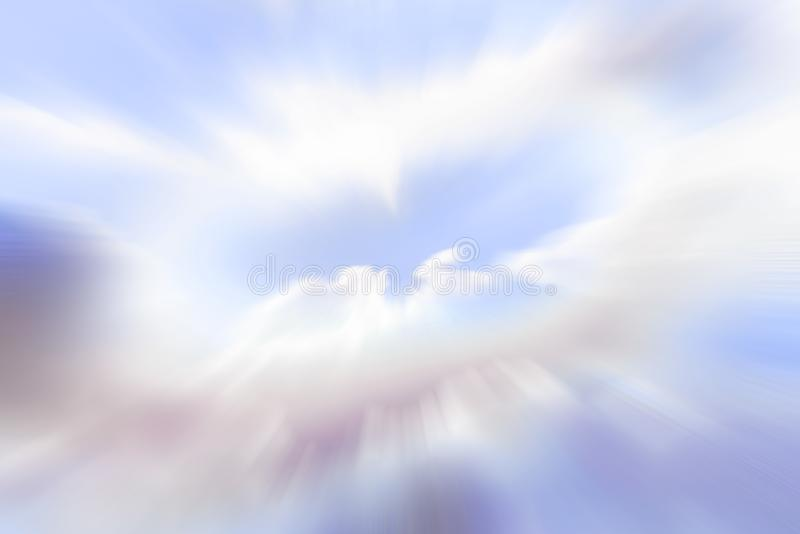 Sky vision spiritual journey stock images