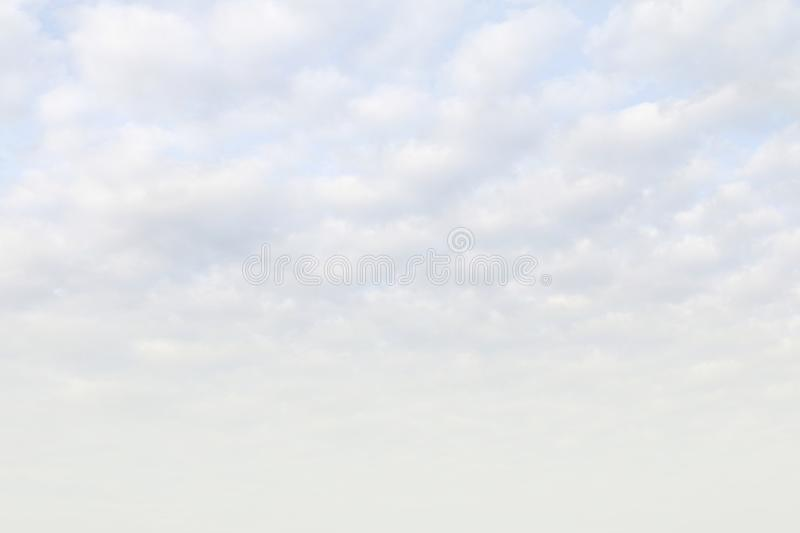 Sky white, sky blue fluffy clouds white, soft sky cloud background, cloudscape sky clear cloud royalty free stock photos