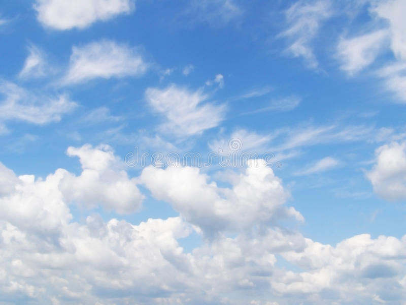 Download Sky And White Different Clouds Royalty Free Stock Photo - Image: 20186705