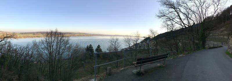 Sky, Winter, Lake, Loch stock photo