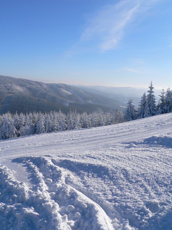 Sky, Winter, Snow, Mountainous Landforms royalty free stock image