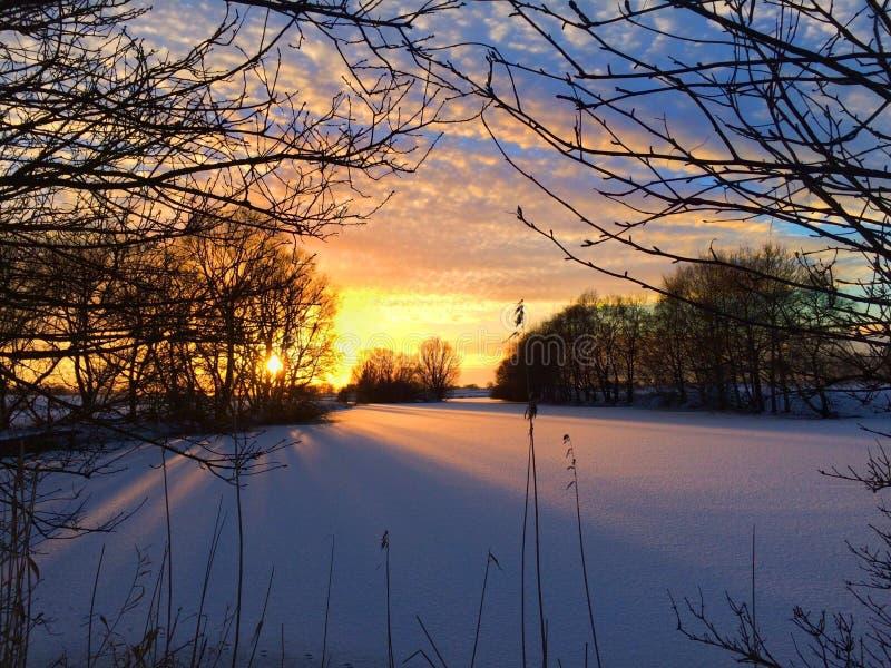 Sky, Winter, Snow, Nature royalty free stock photo