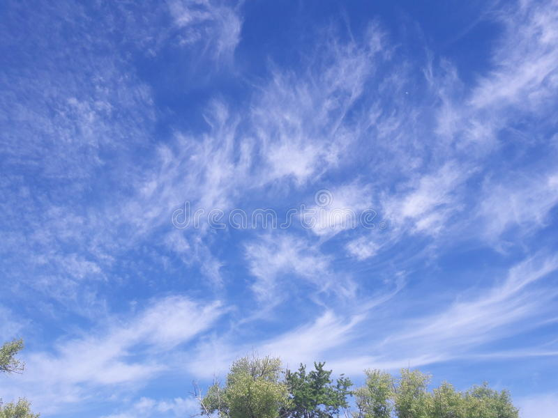 The sky royalty free stock photography