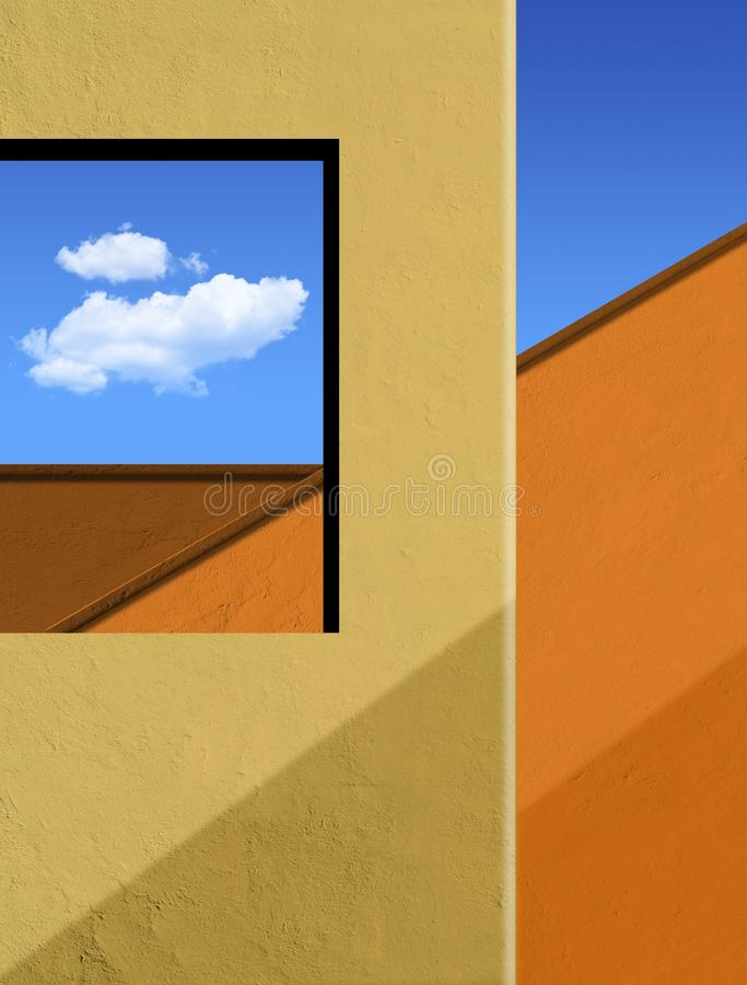 Sky, Yellow, Erg, Orange stock image