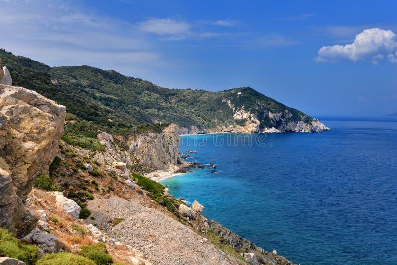 Skyathos Греция стоковые фото