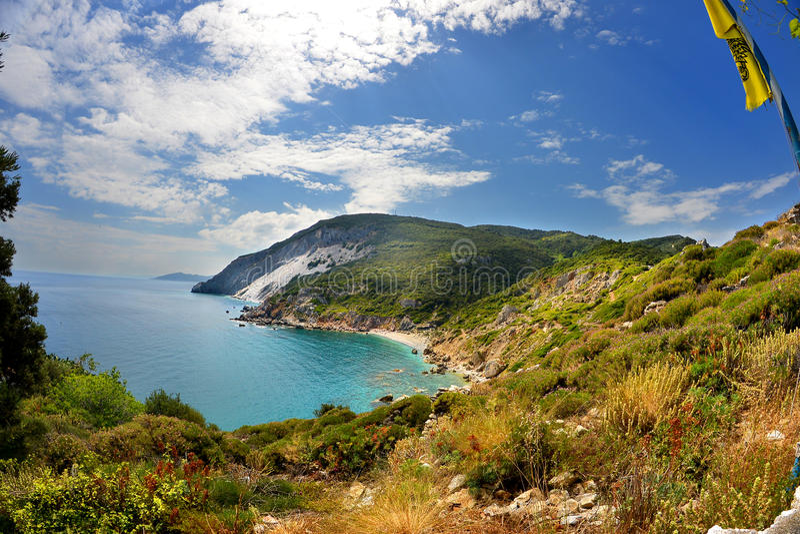 Skyathos Греция стоковое изображение