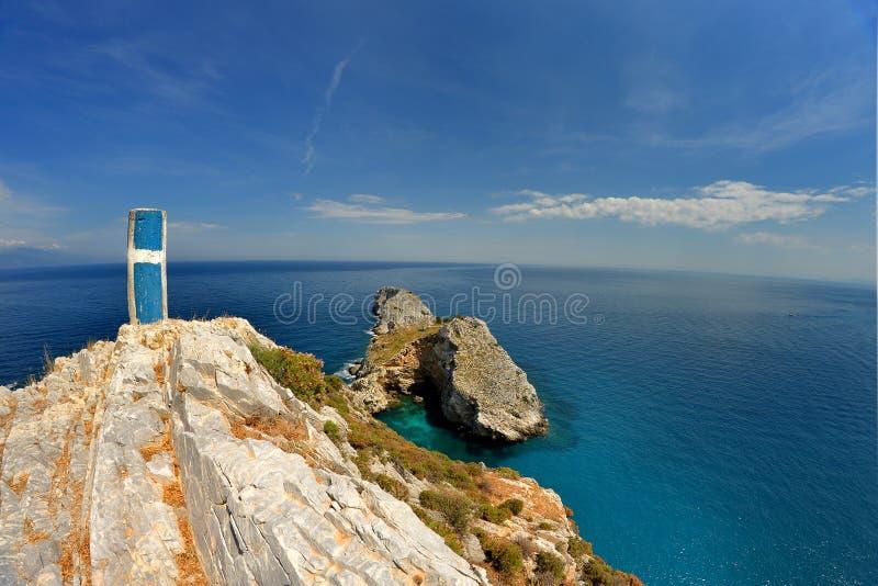 Skyathos Grecia imagen de archivo