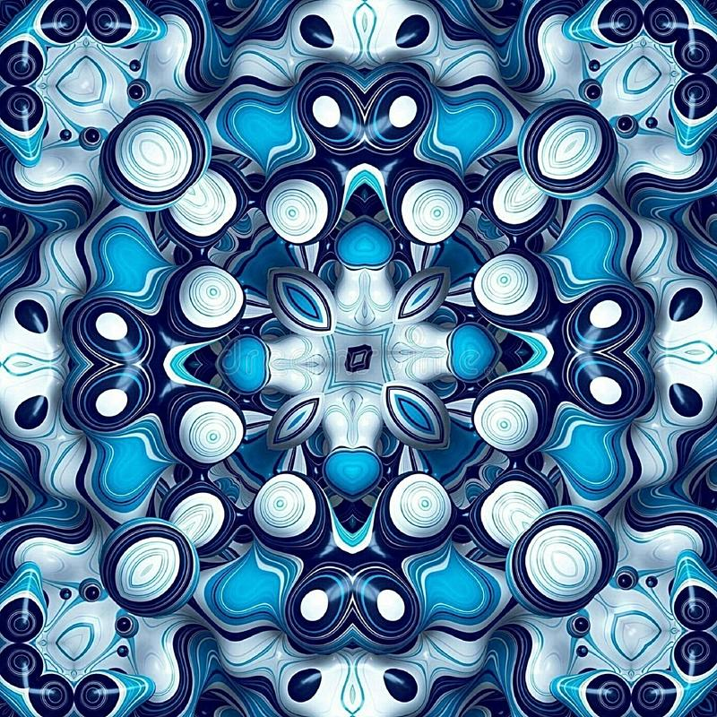 Skyblue and white wallpapers and backgrounds. Sky blue and white wallpaper and backgrounds for home and office royalty free illustration