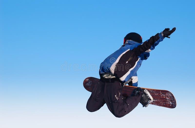 Skyboarder arkivbild