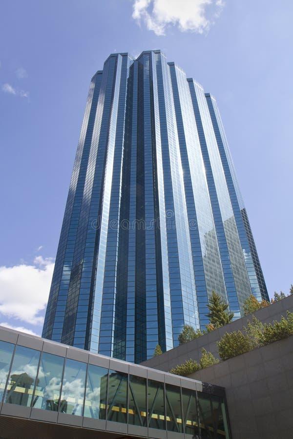 skybridge города здания стоковая фотография