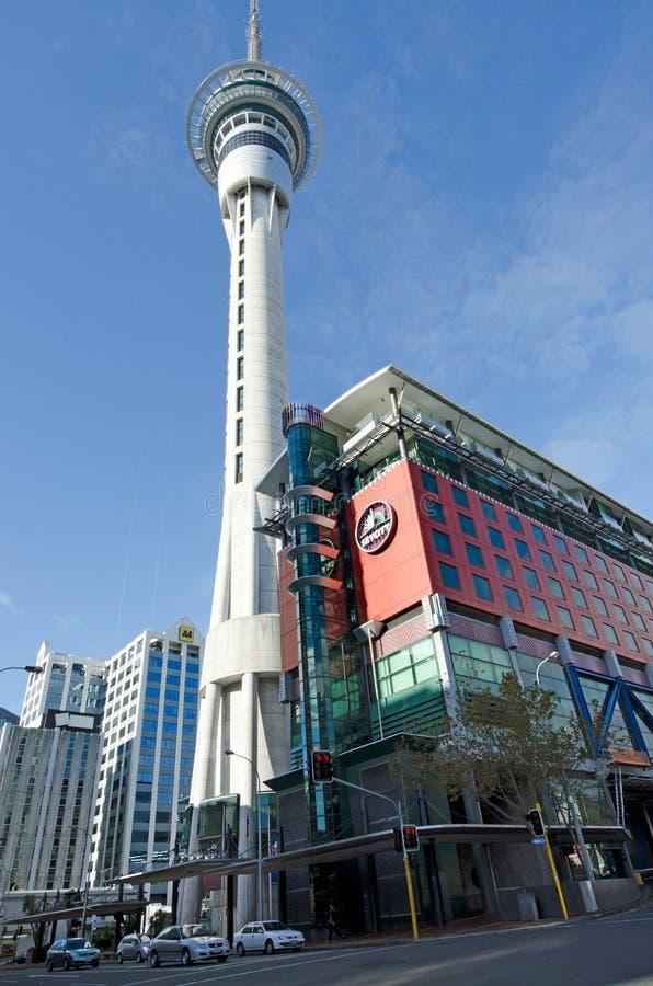 Skycity Auckland image libre de droits