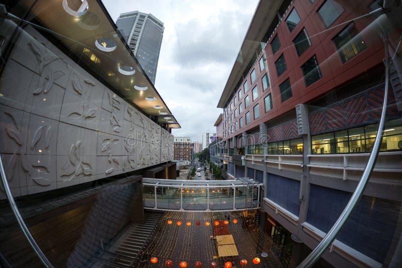 Skycity kasyno i uroczysty hotel obrazy royalty free