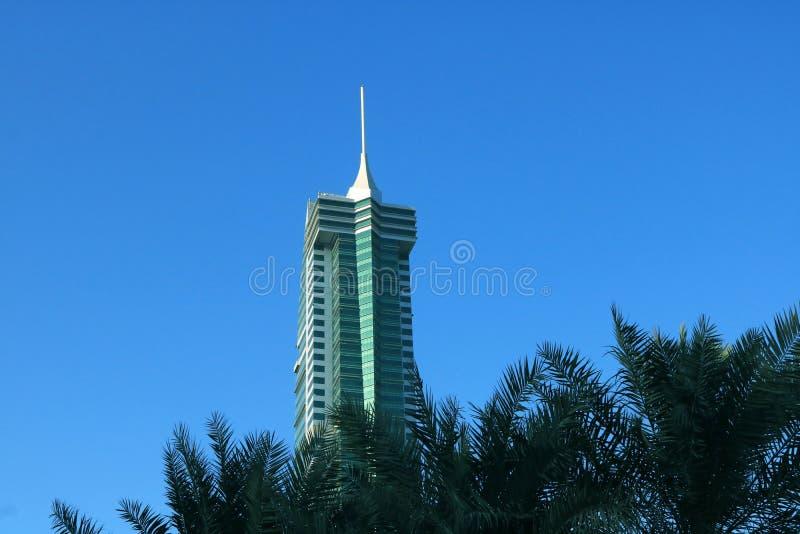 Skycraper in Bahrain stockbild