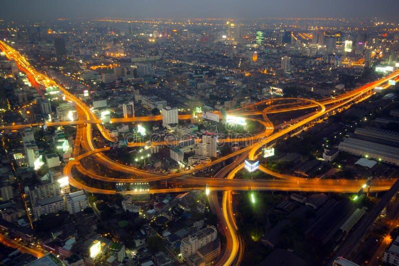 Skycraper. Of Bangkok, capital of the Thailand stock photography