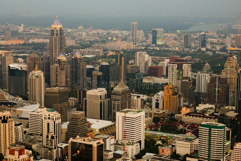Skycraper. Of Bangkok, capital of the Thailand royalty free stock photo