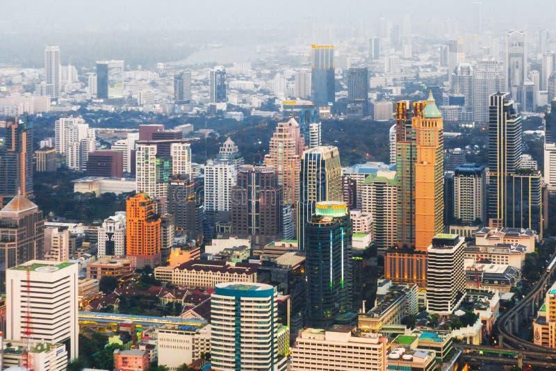 Skycraper. Of Bangkok, capital of the Thailand royalty free stock image