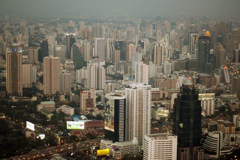Skycraper. Of Bangkok, capital of the Thailand stock photo
