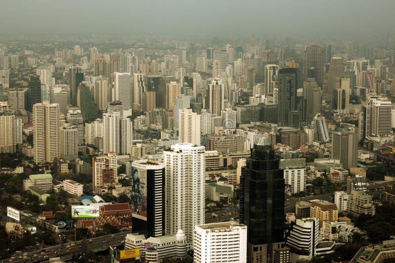 Skycraper. Of Bangkok, capital of the Thailand stock photos