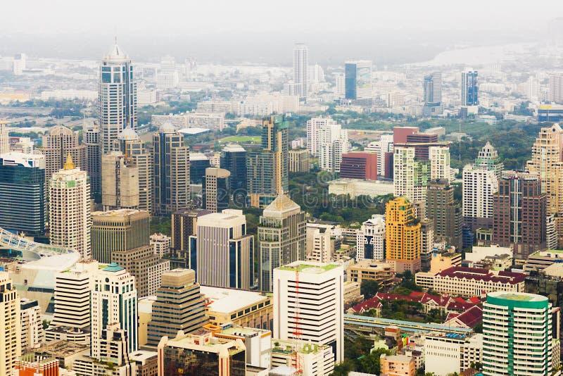 Skycraper. Of Bangkok, capital of the Thailand royalty free stock photos