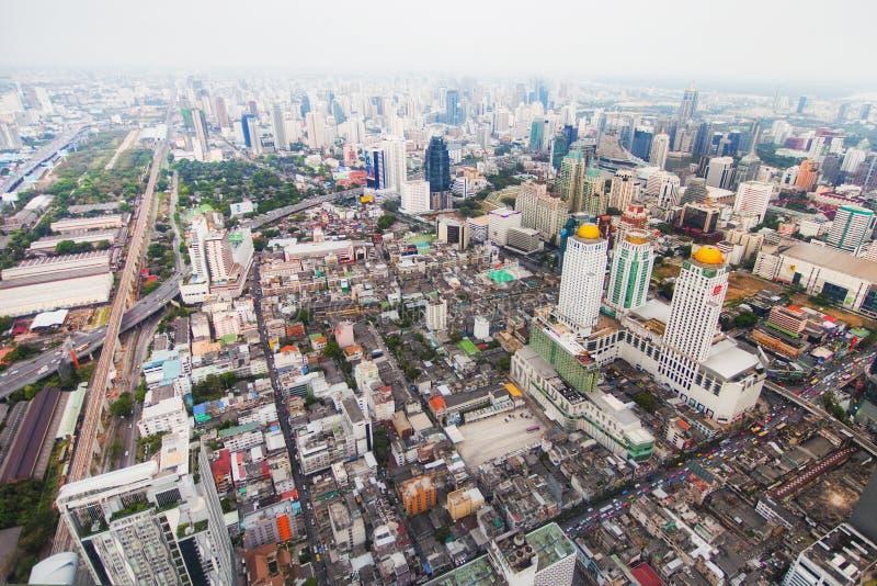 Skycraper. Of Bangkok, capital of the Thailand stock images