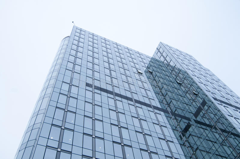 Skycraper en Bruselas imagenes de archivo