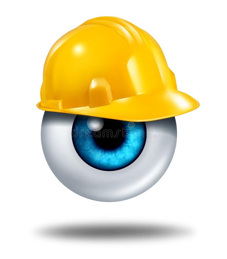 Skydd av dina ögon vektor illustrationer