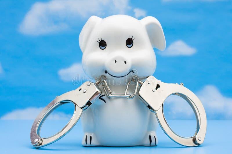 skydda dina besparingar arkivfoton