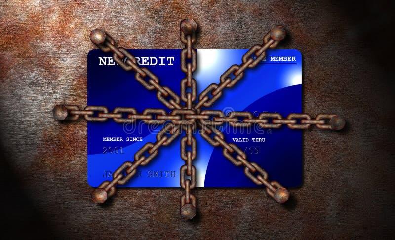 skyddad kreditering som förnekas royaltyfri fotografi