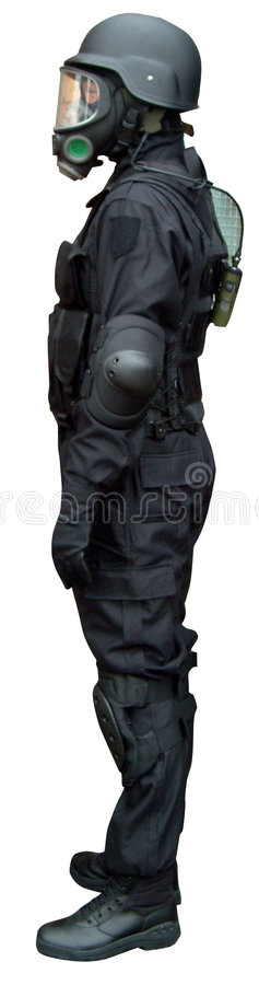 skyddande clothing arkivfoto