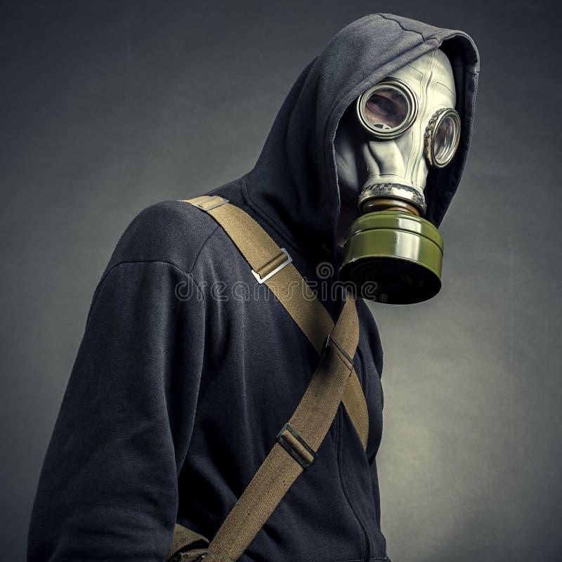 Skyddande gasmask royaltyfri bild