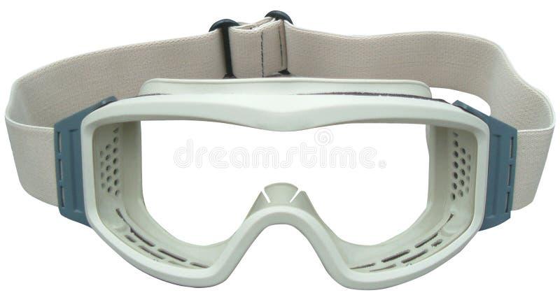 skyddande goggles royaltyfri bild