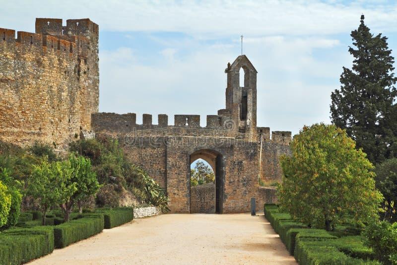 skyddande vägg för fästning arkivbild