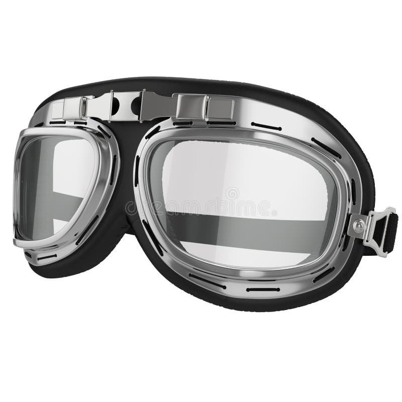 Skyddsglasögon för tappningflygcykel stock illustrationer
