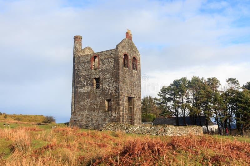 Skyddslingbesökaremitt Cornwall fotografering för bildbyråer