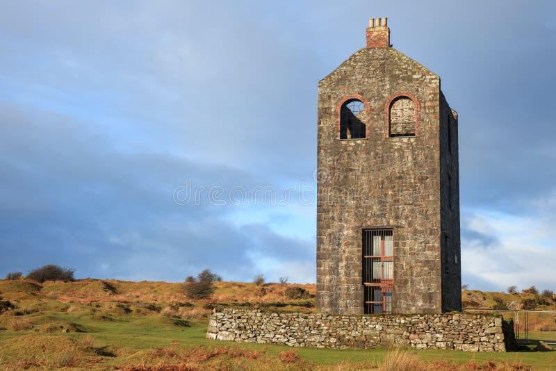 Skyddslingbesökaremitt Cornwall arkivbilder